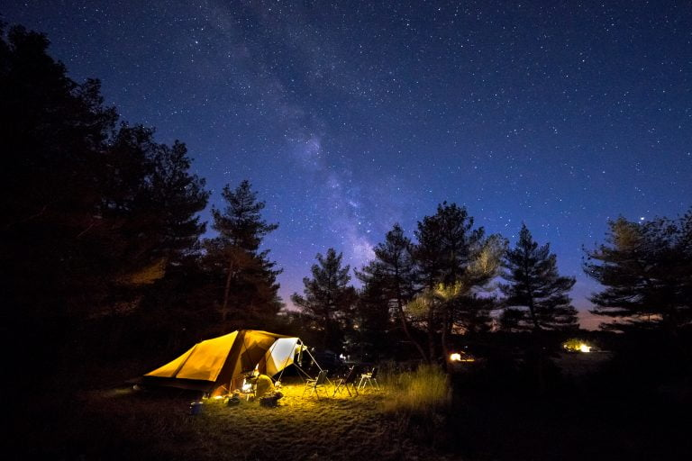 Picture of a tent. SiteTent of Grand Rapids.